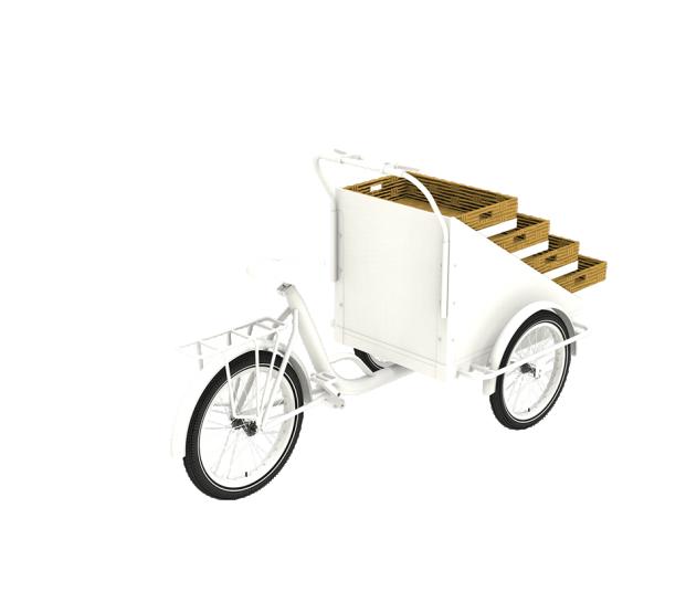 前廂式三輪籃子車款