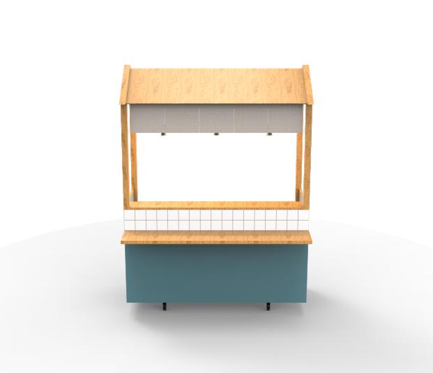 公版款式 – 定點餐車 ③