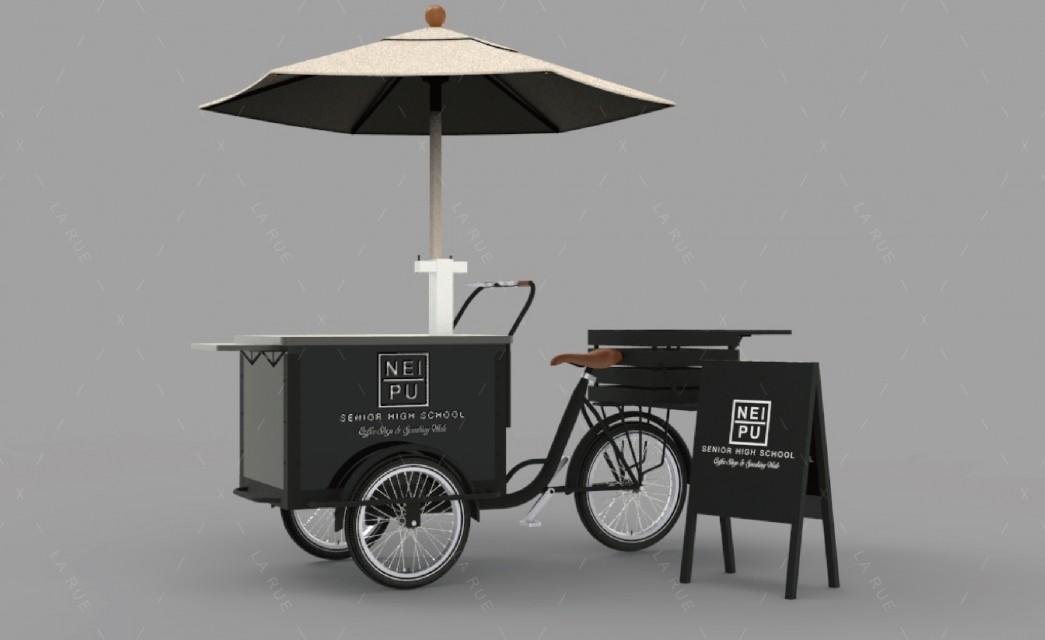 三輪餐車 氣泡水調飲車