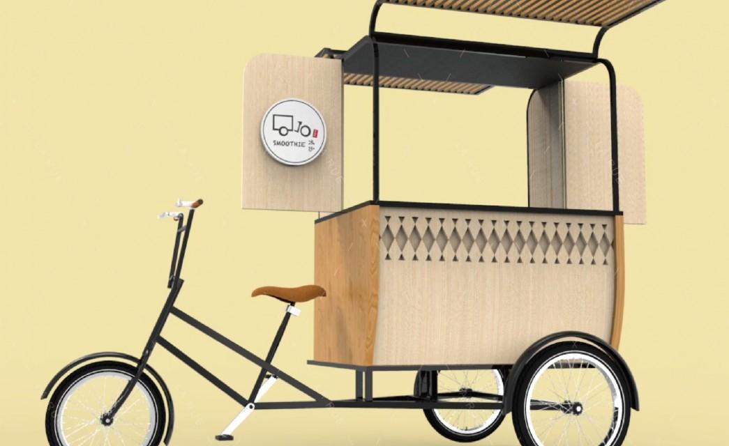 三輪餐車|飲品調飲概念車