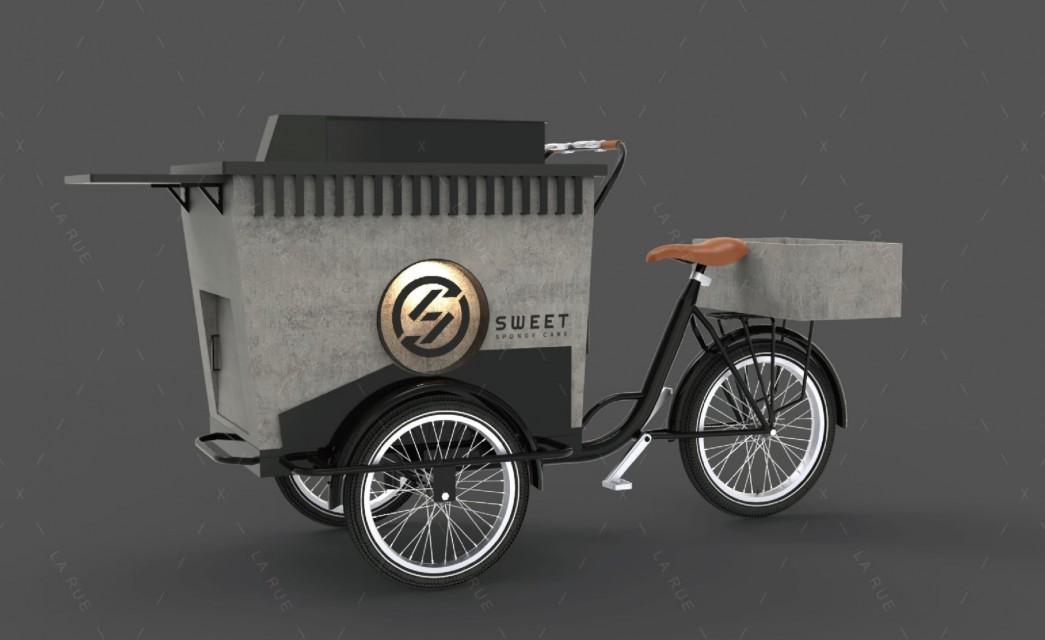 三輪餐車|雞蛋糕概念車 002