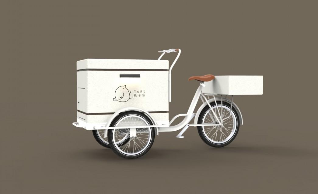 三輪餐車|雞蛋糕概念車 003
