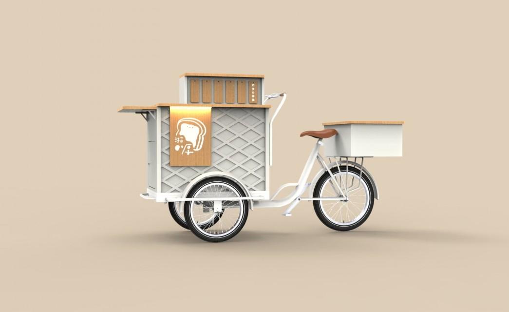 三輪餐車|厚片概念車