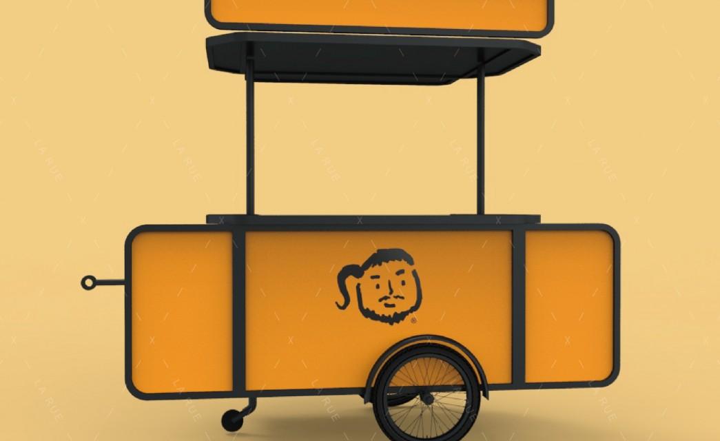 拖曳餐車|海南雞飯概念車