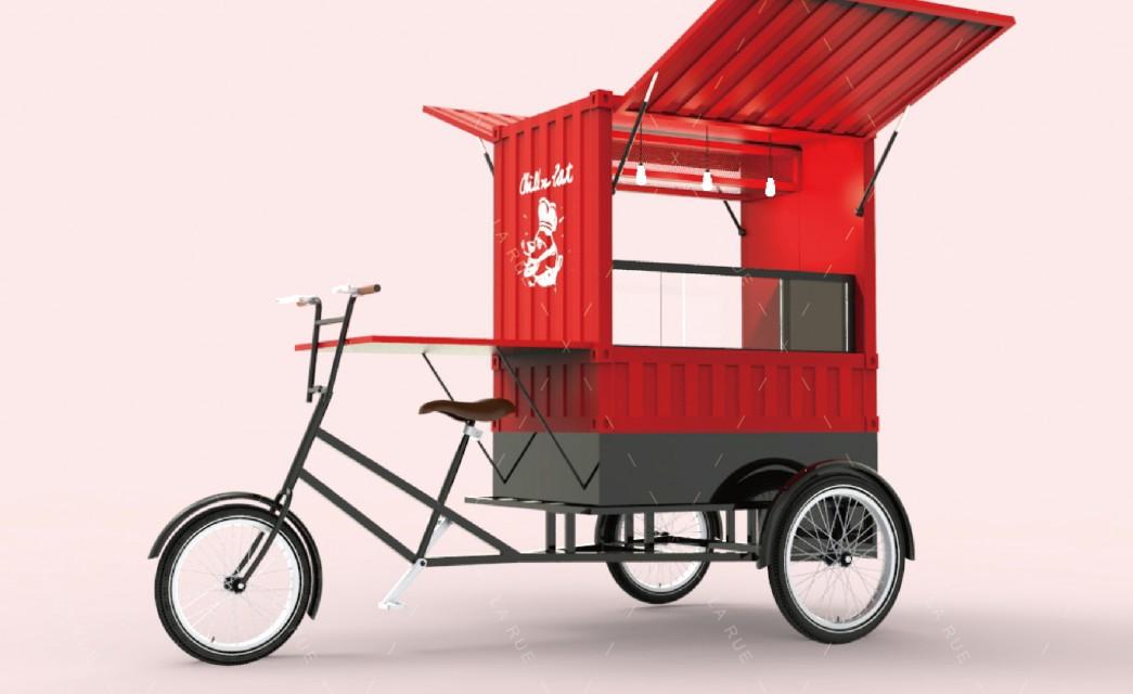 三輪餐車|鹽水雞概念車
